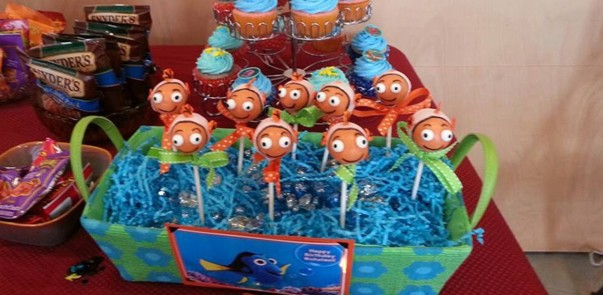 Nicholas' 2nd Birthday Party! Nemo  Lollicakes