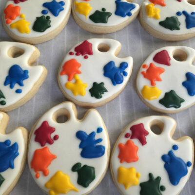 Art Palette Cookies